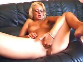 blonde anal casting