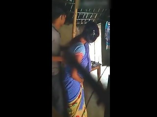 saree aunty quick