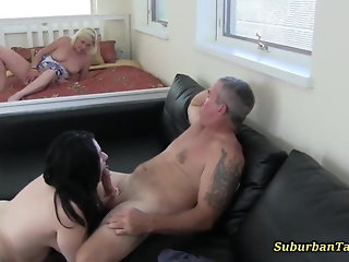 fucks couple chubby